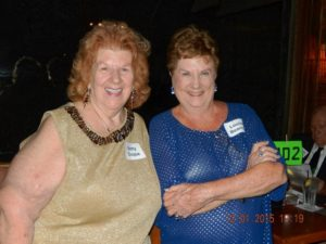 Betty Duque and Louise Bearmon