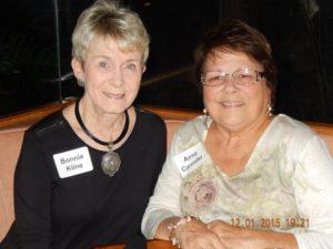 Bonnie Kline and Anna Carender